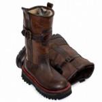 Натуральная зимняя мужская обувь